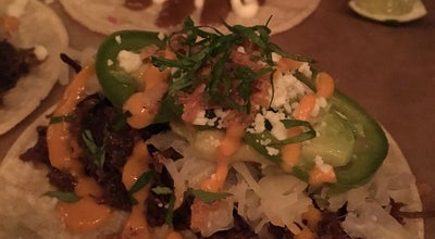 Photo of Taco Place La Carnita at 780 Queen St E, Toronto, On M4M 1H4, Canada