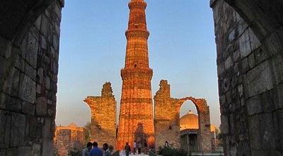 Photo of Monument / Landmark Qutub Minar | क़ुतुब मीनार at Lado Sarai, New Delhi 110030, India