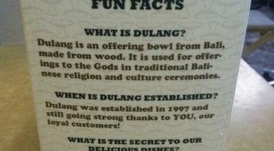 Photo of Cafe Dulang Kafe & Bakery at Kuta Square, Badung 80361, Indonesia