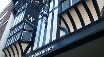 Photo of Bookstore Waterstones at 14 Eastgate Row, Chester CH1 1LF, United Kingdom