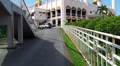 Photo of Mosque Masjid Bahagian Kuching (Kuching Divisional Mosque) at Kampung Masjid, Kuching 93000, Malaysia