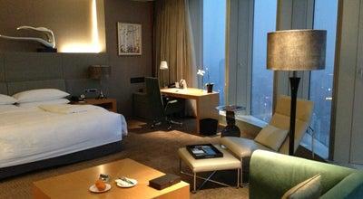 Photo of Hotel InterContinental Nanjing 南京绿地洲际酒店 at 1 Zhongyang Rd, Nanjing, Ji 210008, China