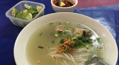 Photo of Ramen / Noodle House ເຂົ້າປຽກ ຮ້ານແມ່ແບະ ທາດດຳ at Laos