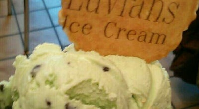 Photo of Ice Cream Shop Luvians Ice Cream Parlour at 84 Market Street, St Andrews KY16 9PA, United Kingdom