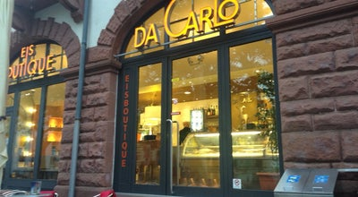 Photo of Ice Cream Shop Eisboutique Da Carlo at Kaupstr. 40, Darmstadt 64289, Germany
