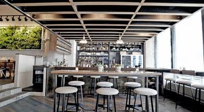 Photo of American Restaurant Atrium DUMBO at 15 Main Street, Brooklyn, NY 11201, United States