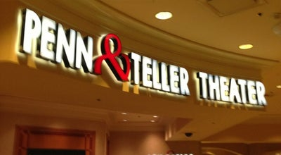 Photo of Theater Penn & Teller Theater at 3700 W Flamingo Rd, Las Vegas, NV 89103, United States