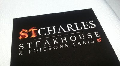 Photo of Steakhouse Steakhouse St-Charles at 350 Rue Sicard, Ste-Thérèse, QC J7E 3X4, Canada