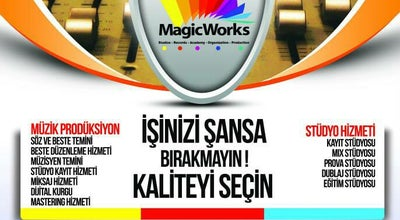 Photo of Music Venue MagicWorks - Antalya Studios & Records & Academy at Sinan Mahallesi 1253 Sokak Sapmaz Çiftçioglu Işhanı Kat:2 No:60, Antalya 07100, Turkey