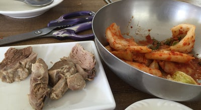 Photo of Korean Restaurant 민속옹심이&막국수 at 죽헌길44번길 27, 강릉시, South Korea