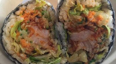 Photo of Sushi Restaurant Rawl Sushi Burrito at 212 Eat 45th St., New York, NY 10017, United States