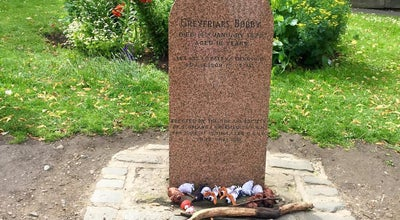Photo of Arts and Entertainment Greyfriars Bobby Grave at United Kingdom