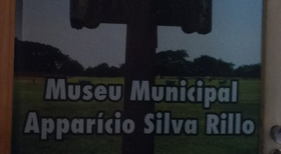Photo of History Museum Museu Municipal Aparício Silva Rillo at Travessa Albino Pfeiffer, Nº 84., São Borja 97670-000, Brazil