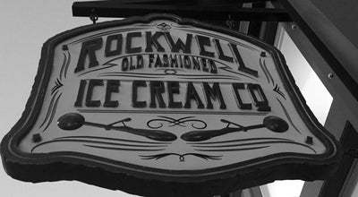 Photo of Ice Cream Shop Rockwell Ice Cream Company at 43 N University Ave, Provo, UT 84601, United States