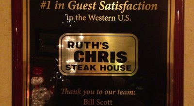 Photo of Steakhouse Ruth's Chris Steak House - Park City at 2001 Park Ave, Park City, UT 84060, United States