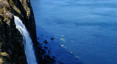 Photo of Mountain Kilt Rock at United Kingdom