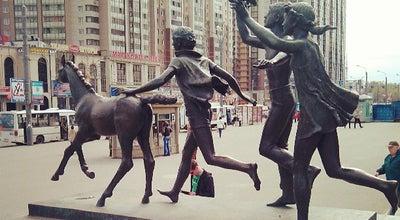Photo of Outdoor Sculpture Памятник пионерам at Просп. Испытателей, Санкт-Петербург, Russia