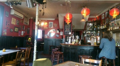 Photo of Pub The Mucky Pup at 39 Queen's Head St, Islington N1 8NQ, United Kingdom