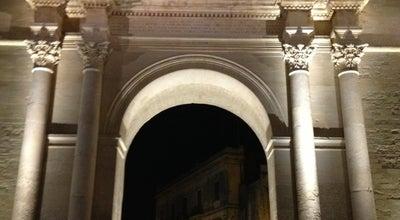 Photo of Historic Site Porta Napoli at Via Adua 1, Lecce 73100, Italy