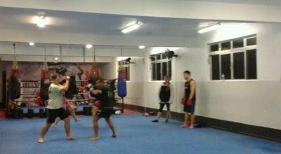 Photo of Martial Arts Dojo Thai Center at Av. Afonso Pena, 698, Santos 11020-002, Brazil