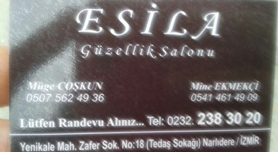 Photo of Nail Salon Esila Kuaför & Güzellik Salonu at Sevgi Mah., İzmir, Turkey