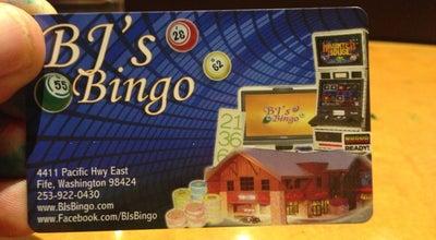 Photo of Casino BJ's Bingo at 4411 Pacific Hwy E, Fife, WA 98424, United States