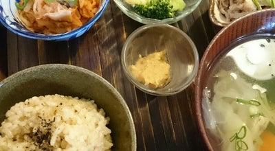 Photo of Vegetarian / Vegan Restaurant 玄米食堂 ie at 鎗屋町2丁目4-5, 大阪市中央区 540-0027, Japan