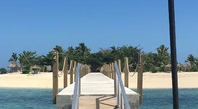 Photo of Beach Tivua Island at Fiji