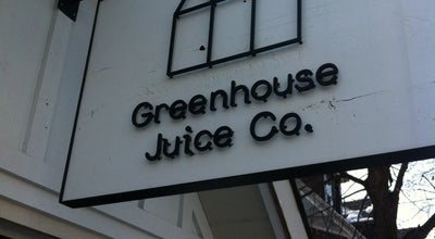 Photo of Juice Bar Greenhouse Juice Co at 5 Macpherson Ave., Toronto, ON, On, Canada