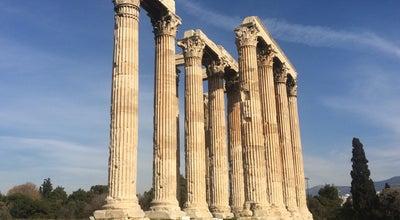 Photo of Cultural Center Temple Of Olympian Zeus at Greece Athens, Athenas, Greece