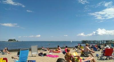 Photo of Beach Calf Pasture Beach at Calf Pasture Beach Rd, Norwalk, CT 06855, United States