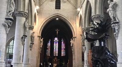 Photo of Church Église Notre-Dame de la Chapelle / Onze Lieve Vrouw Ter Kapellekerk at Place De La Chapelle / Kapellemarkt, Brussels 1000, Belgium