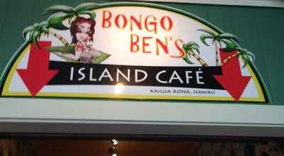 Photo of American Restaurant Bongo Ben's Island Cafe at 75-5819 Alii Dr, Kailua Kona, HI 96740, United States