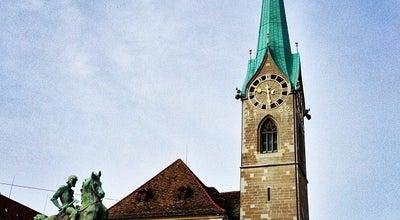 Photo of Church Fraumünster at Münsterhof, Zürich 8001, Switzerland