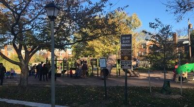 Photo of Playground Hooff's Run Park and Greenway at Alexandria, VA 22301, United States