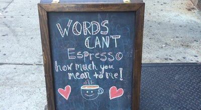 Photo of Coffee Shop Double Dutch Espresso at 2194 Frederick Douglass Blvd, New York, NY 10026, United States