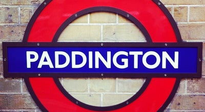 Photo of Train Station London Paddington Railway Station (PAD) at Praed St, London, Greater London W2 1HQ, United Kingdom