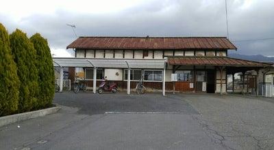 Photo of Historic Site 長野電鉄 綿内駅 跡地 (Watauchi Sta.) (Y11) at 若穂綿内字高野6472-2, 長野市 381-0101, Japan