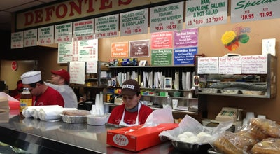 Photo of Sandwich Place Defonte's Sandwich Shop at 379 Columbia St, Brooklyn, NY 11231, United States