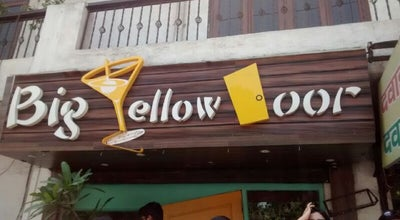 Photo of Cafe Big Yellow Door at Hudson Lane, Delhi 110009, India