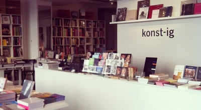 Photo of Bookstore Konstig at Åsögatan 124, Stockholm 116 24, Sweden