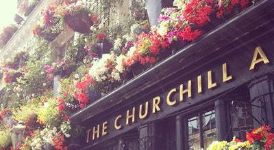 Photo of Pub The Churchill Arms at 119 Kensington Church St, Kensington W8 7LN, United Kingdom