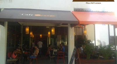 Photo of Coffee Shop Cafe Orange at Calle 30, Playa del Carmen 77710, Mexico