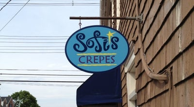 Photo of French Restaurant Sofi's Crepes at 1 Craig St, Annapolis, MD 21401, United States