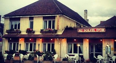 Photo of Hotel Hotel Au Soleil d'Or at 46 Route De Vezelay, Pontaubert 89200, France