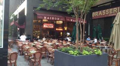 Photo of French Restaurant Maison at 1700 Broadway, New York, NY 10019, United States