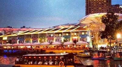 Photo of Pedestrian Plaza Clarke Quay Riverside at Clarke Quay, Singapore, Singapore