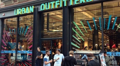 Photo of Clothing Store Urban Outfitters at Kalverstraat 31-33, Amsterdam 1012NX, Netherlands
