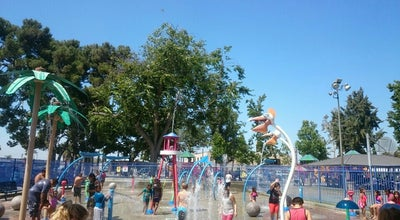 Photo of Playground Splash Pad - Sigler Park at Westminster, CA, United States