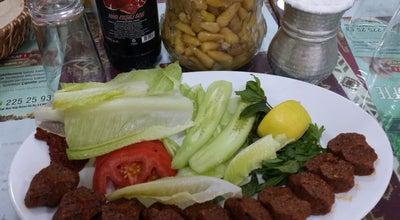 Photo of Fast Food Restaurant Ahmet Usta Çiğkõfte at Trabzon Cd. Aksu Vergi Dairesi Altı No.6, Kahramanmaraş 46000, Turkey
